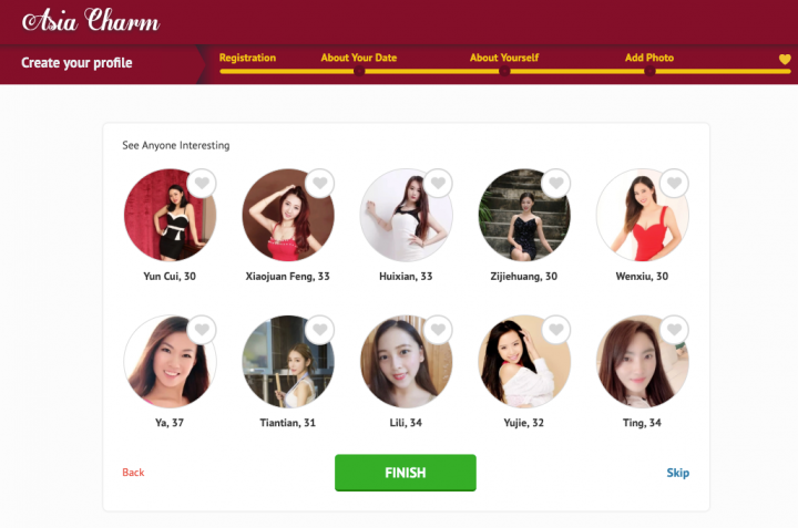 Asiacharm dating website