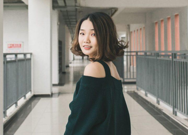 sensual asian woman