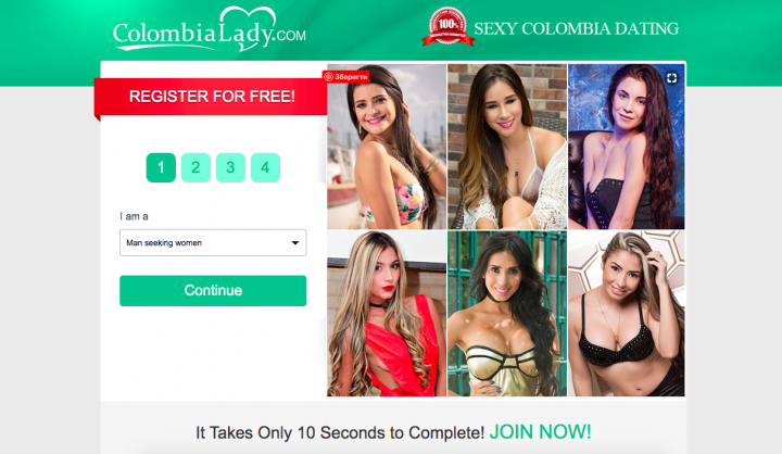main page ColombianLady