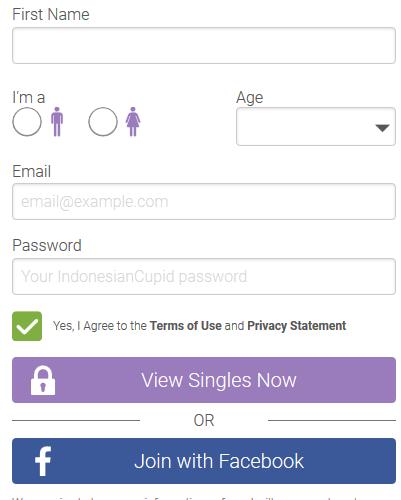 IndonesianCupid registration