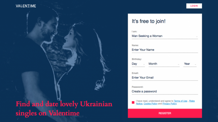 main page Valentime